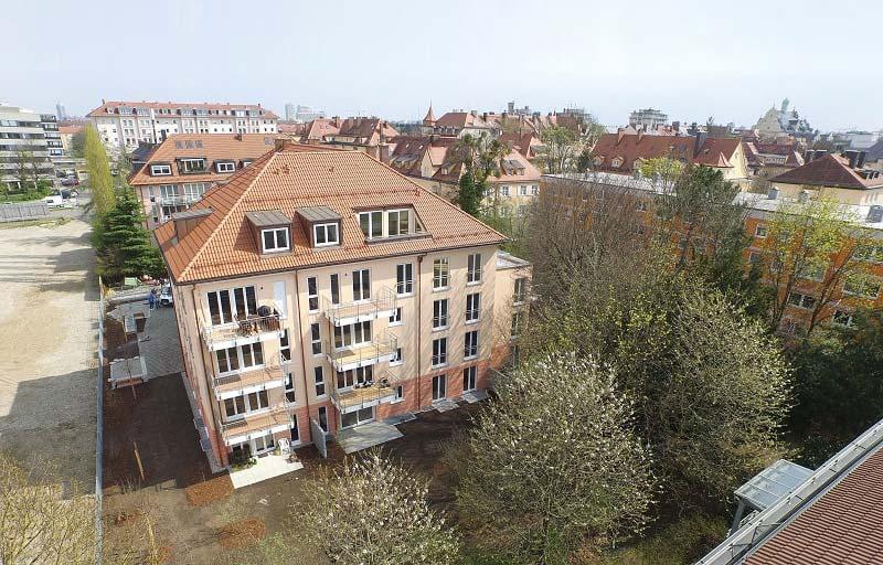 Neubau Wohnanlage Fürstenriederstraße in München
