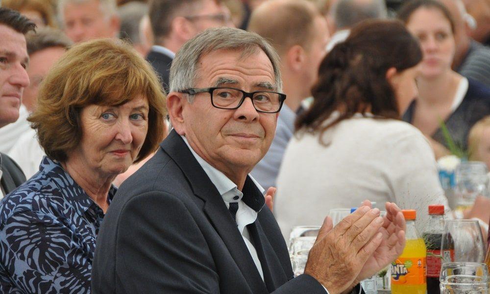Klaus Glöckle mit Ehefrau