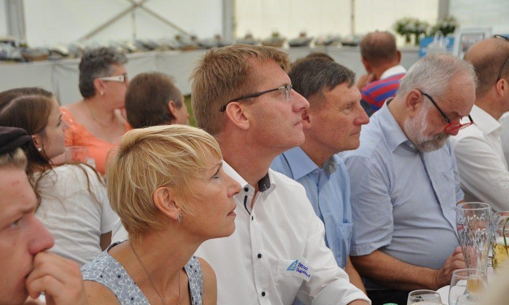 Geschäftsführer Bernd Supthut mit Ehefrau