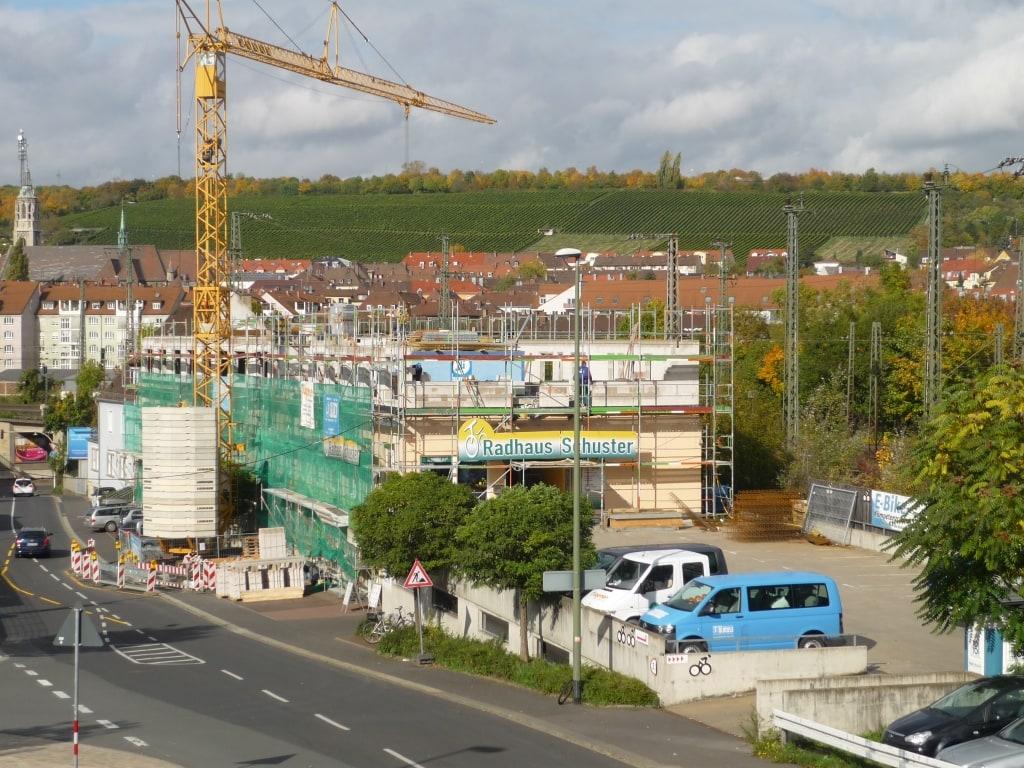 Aufstockung eins Bürogebäudes in Würzburg