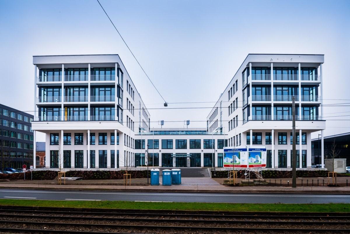 Neues Bürogebäude in Nürnberg