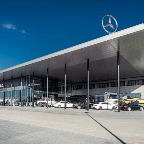 Mercedes Benz, Niederlassung Schweinfurt