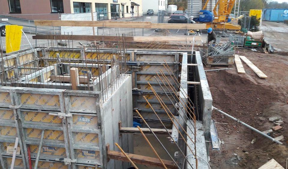 Neubau Geschäftshaus, Schonungen-1