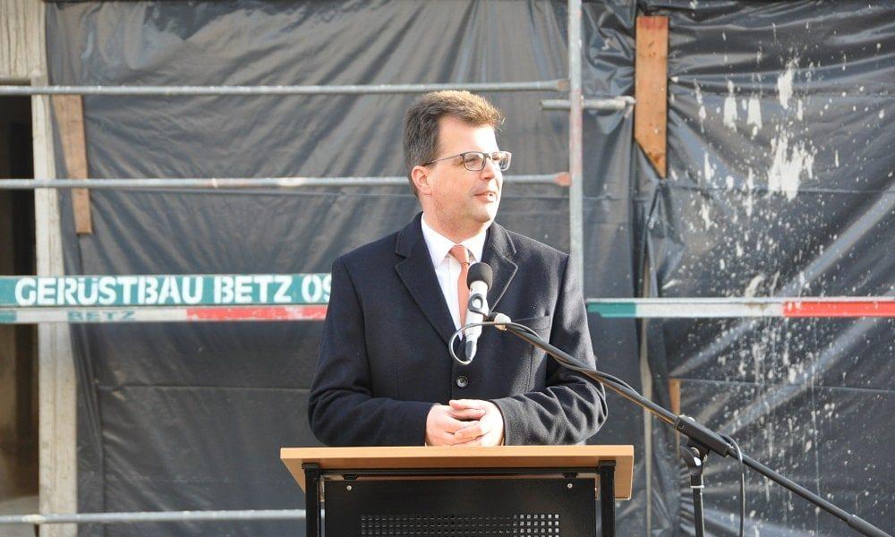 Ansprache des zweiten Bürgermeisters von Bamberg zum Richtfest des neuen Gesundheitzentrums in Bamberg