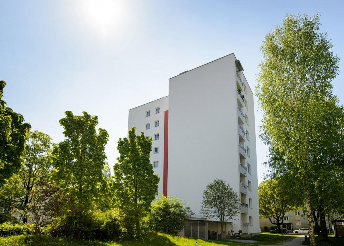 Sanierung einer kompletten Wohnanlage in München