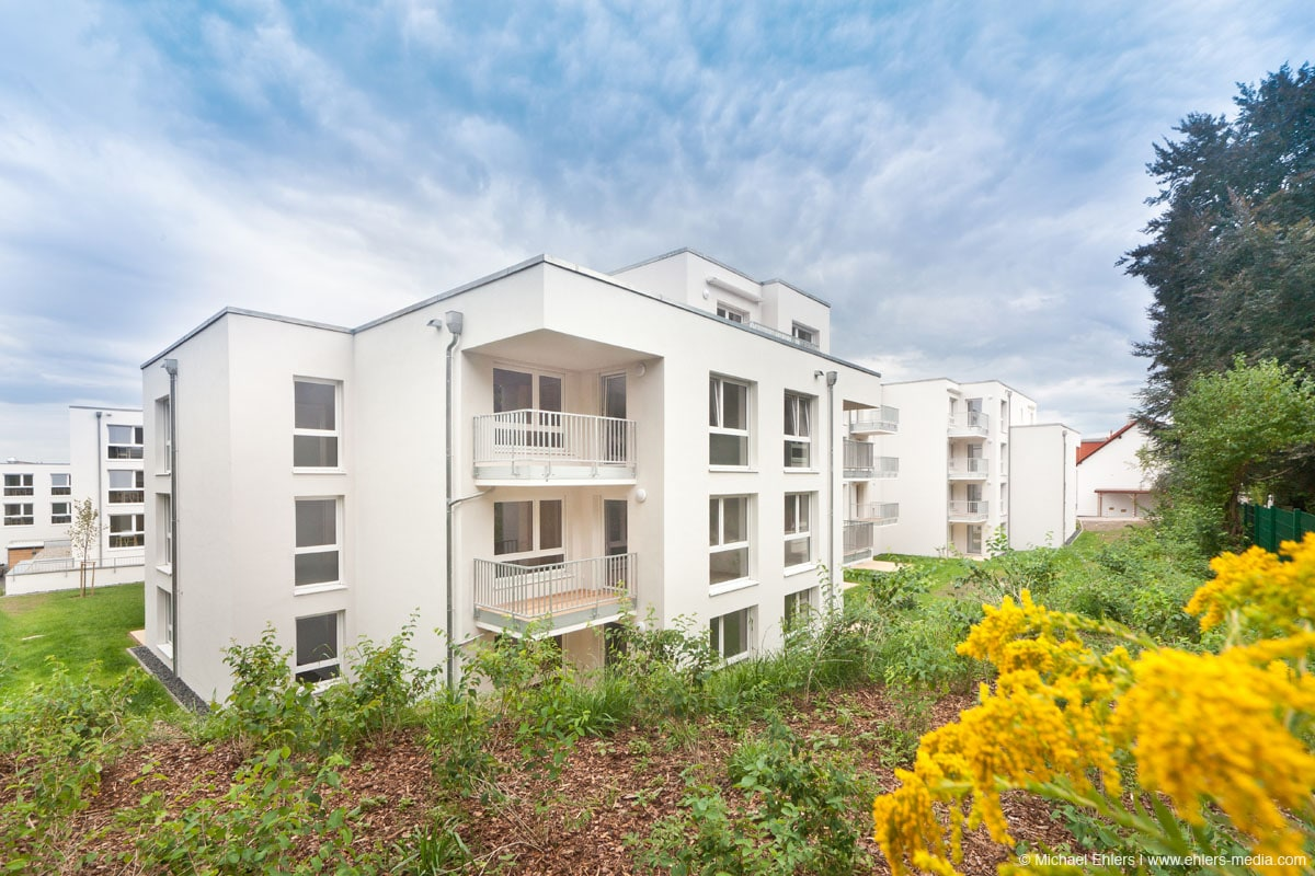 Mitten im Grünen liegt das neue Seniorenzentrum in Bad Vilbel