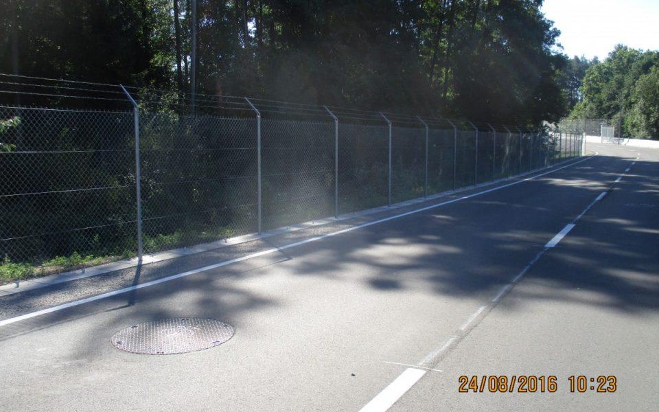 Die neue Straße bei der US-Kaserne Katterbach ist fertiggestellt