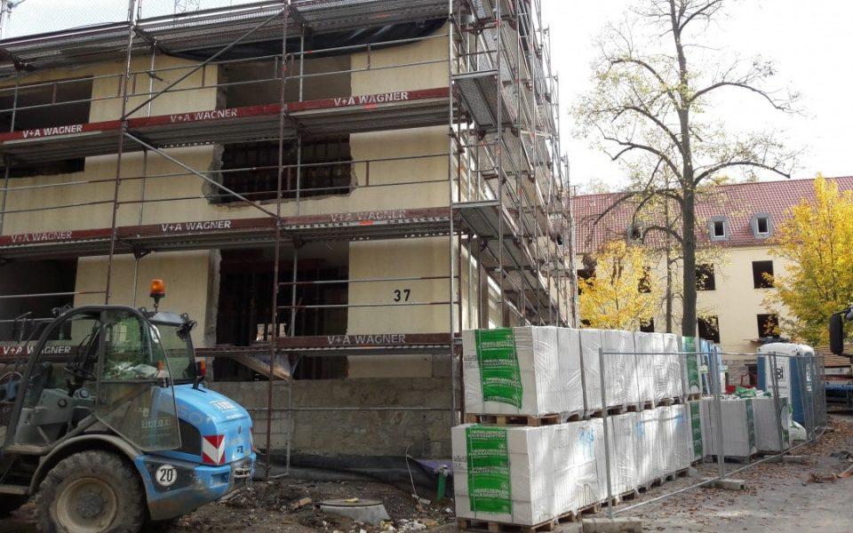 Umbau der Mannschaftshäuser am Hubland in Würzuburg