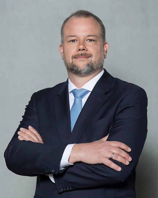 Timo Becker, Bereichsleiter Tief- und Straßenbau bei der Bauunternehmung Glöckle Hoch- und Tiefbau GmbH