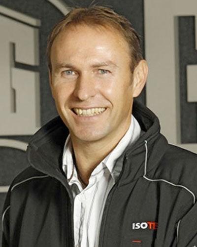 Dieter Reusch, Abteilungsleiter ISOTEC bei der Firma Glöckle Hoch- und Tiefbau