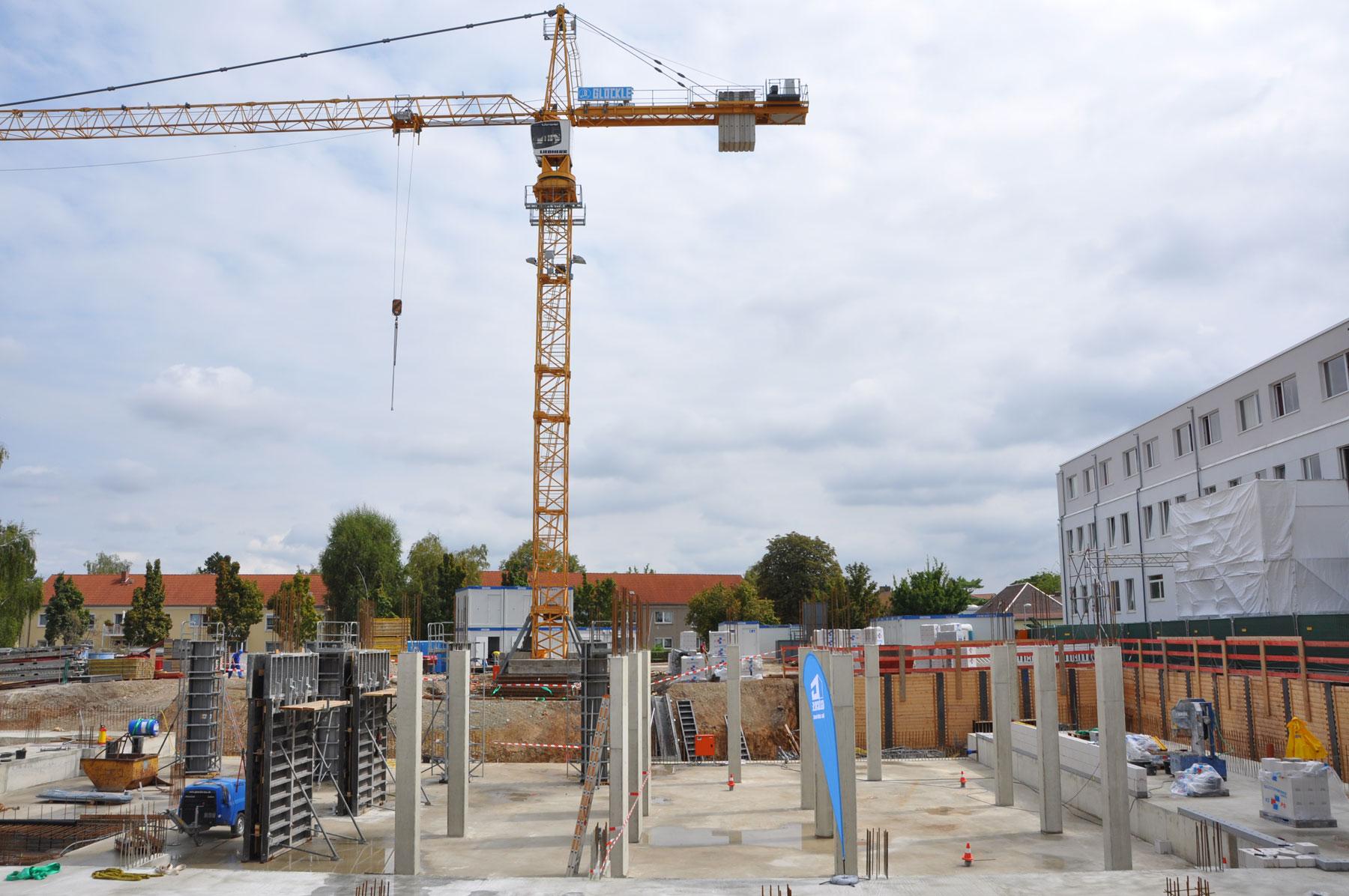 Grundsteinlegung des neuen Kinderzentrums des Klinikums Burgenlandkreis in Naumburg