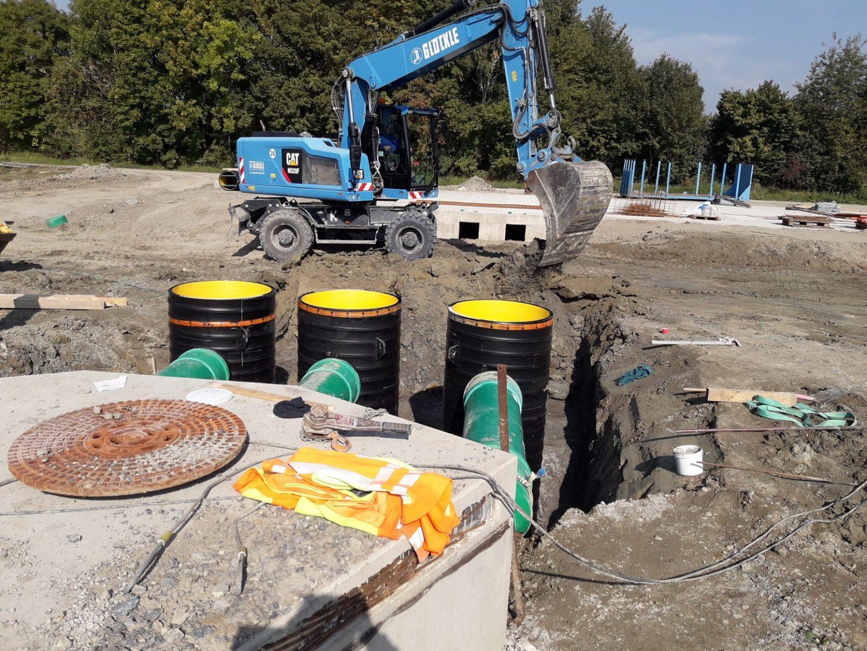 Rohr- und Kanalarbeiten bilden den Anfang eines jeden Bauprojekts
