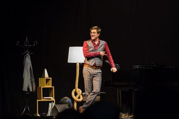 Entertainment pur - Bodo Wartke auf der Bühne