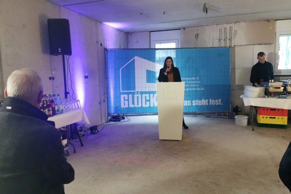 Carolin Glöckle, geschäftsführende Gesellschafterin der Unternehmensgruppe Glöckle