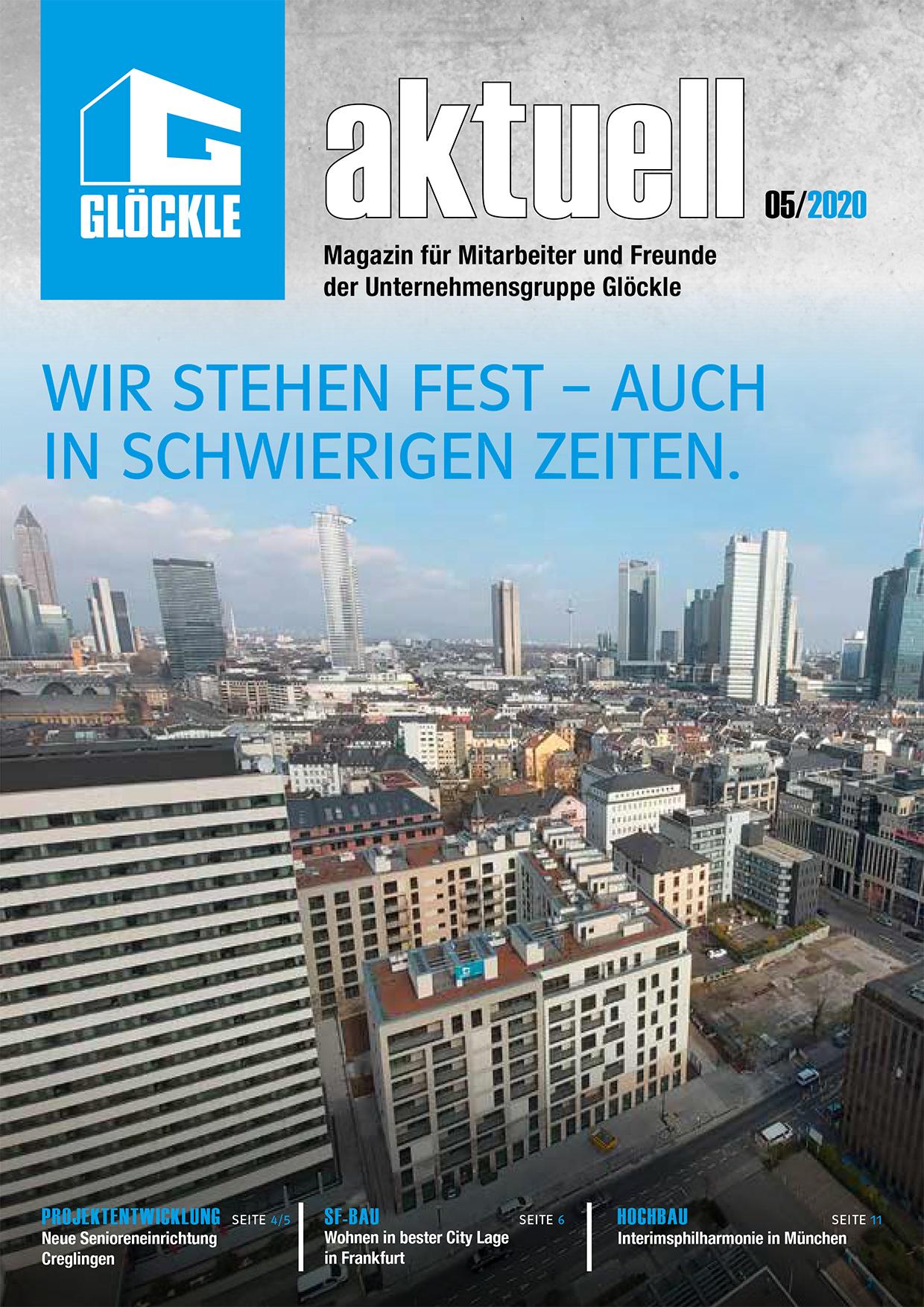 GLÖCKLE aktuell – Ausgabe Mai 2020