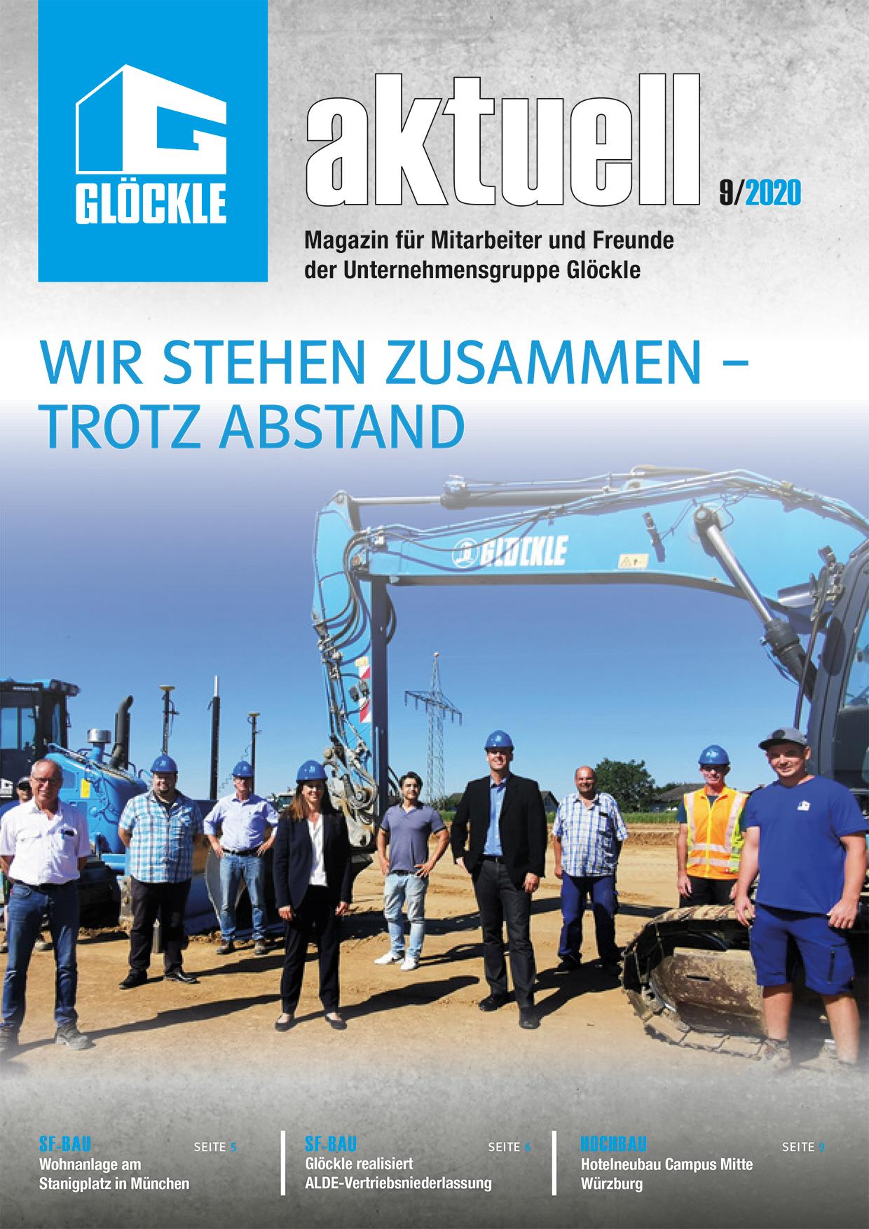 GLÖCKLE aktuell – Ausgabe September 2020