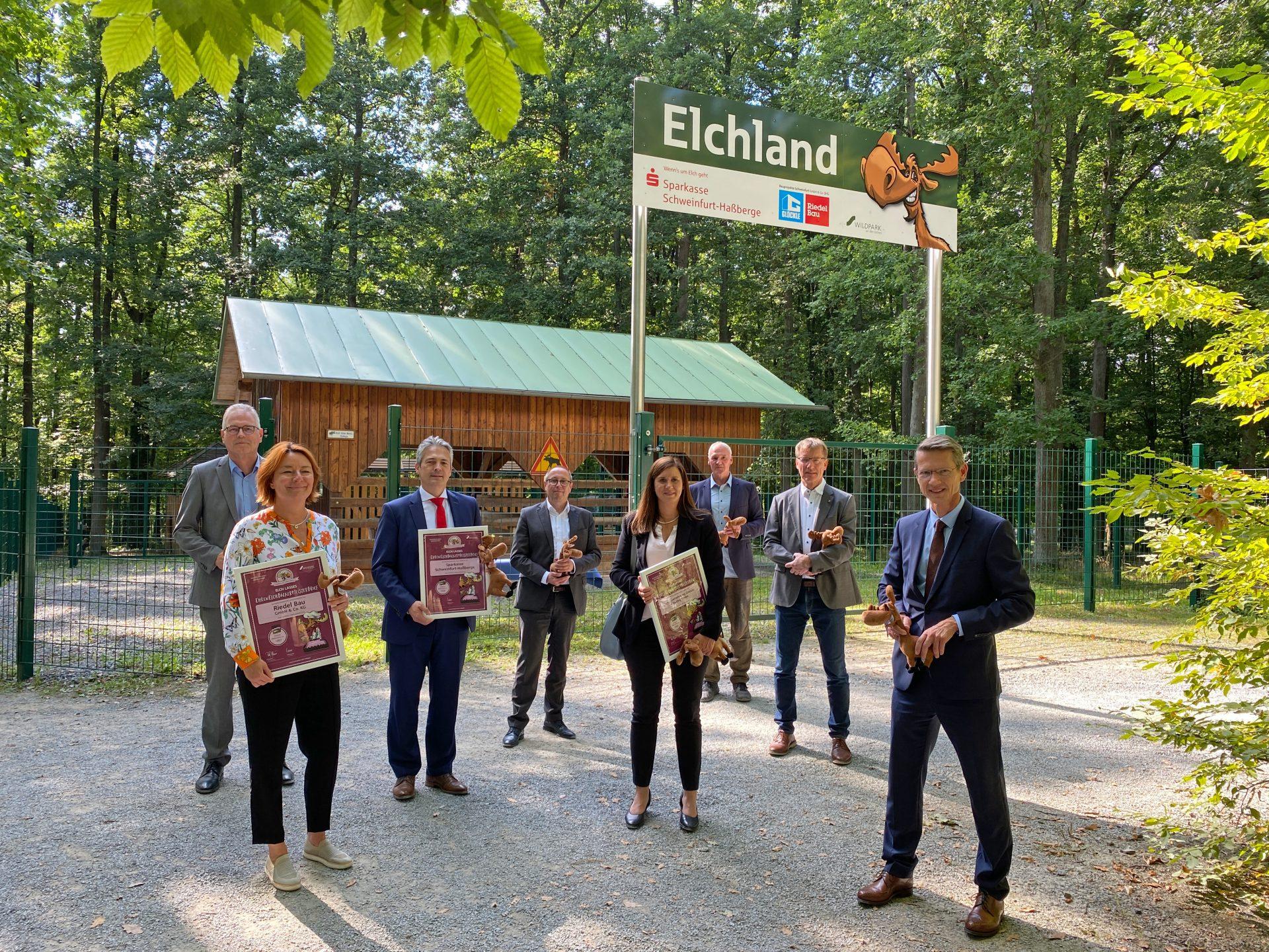 Glöckle unterstützt den Wildpark Schweinfurt