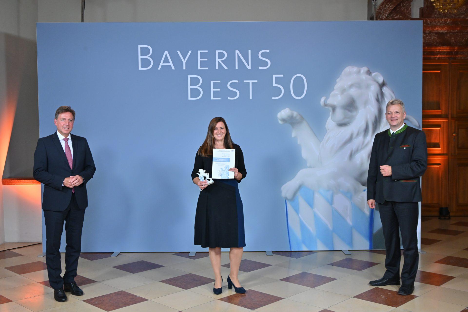 """Auszeichnung des Bayerischen Wirtschaftsministeriums: Unternehmensgruppe Glöckle zählt zu """"BAYERNS BEST 50"""""""